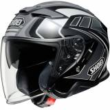 Shoei J-Cruise 2 Aglero Jet Helmet  - Black Grey - Size: M