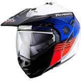 Caberg Tourmax Titan Helmet  - White Red Blue - Size: XL