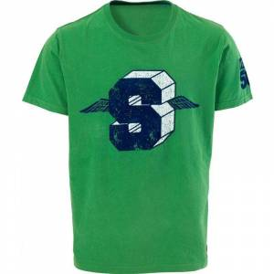 Scott S Tee  - Green - Size: L