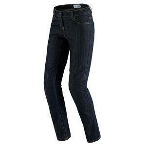 Spidi J-Flex Lady Denim Ladies Motorcycle Jeans female Black Grey Size: 36