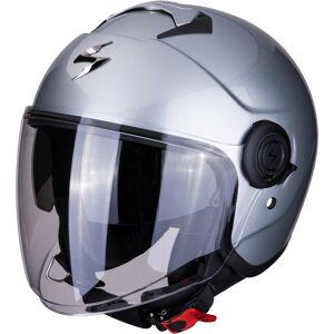 Scorpion Exo City Solid Jet Helmet  - Silver - Size: M