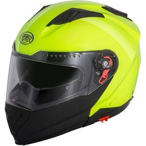 Premier Delta Fluo Helmet  - Black Yellow - Size: M