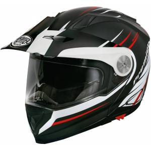 Premier Xtrail MO 92 BM Helmet  - Black White Red - Size: M