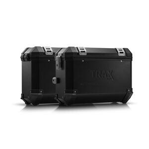 SW-Motech TRAX ION aluminium case system - Black. 37/37 l. Honda NC700 S/X, NC750 S/X. aluminium case system Black 37/37 Liter - Honda NC700 S/X, NC750 S/X  - schwarz