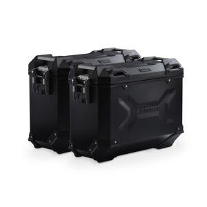 SW-Motech TRAX ADV aluminium case system - Black. 37/37 l. BMW S 1000 XR (15-). aluminium case system Black 37/37 Liter - BMW S 1000 XR (15-)  - schwarz