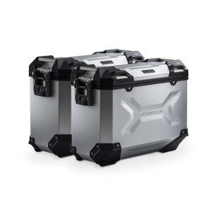 SW-Motech TRAX ADV aluminium case system - Silver. 37/37 l. Multistrada 1200 / S (10-14). aluminium case system Silver 37/37 Liter - Ducati Multistrada 1200 / S (10-14)