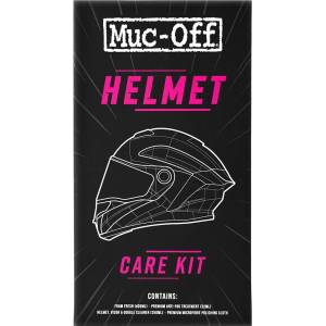 Muc-Off Helmet Care Kit unisex Orange Size: One Size