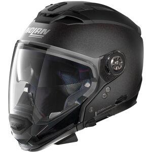 Nolan N70-2 GT Special N-Com Helmet  - Black Grey - Size: M