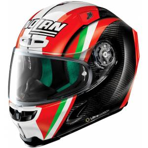 X-lite X-803 Ultra Carbon Replica C.Stoner Together Helmet  - Black White Red - Size: M