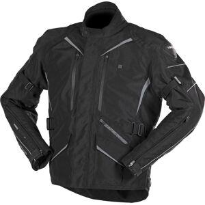 VQuattro Hurry Motorcycle Textile Jacket  - Black - Size: L