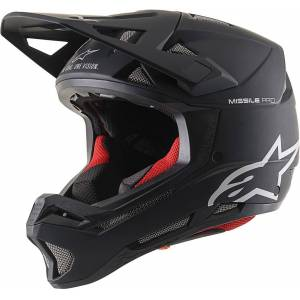 Alpinestars Missile Pro Solid Downhill Helmet  - Black - Size: M