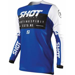 Shot Contact Spirit Motocross Jersey  - Size: Medium