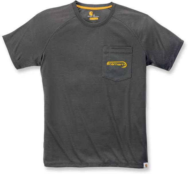 Carhartt Force Fishing Graphic T-Shirt Black S