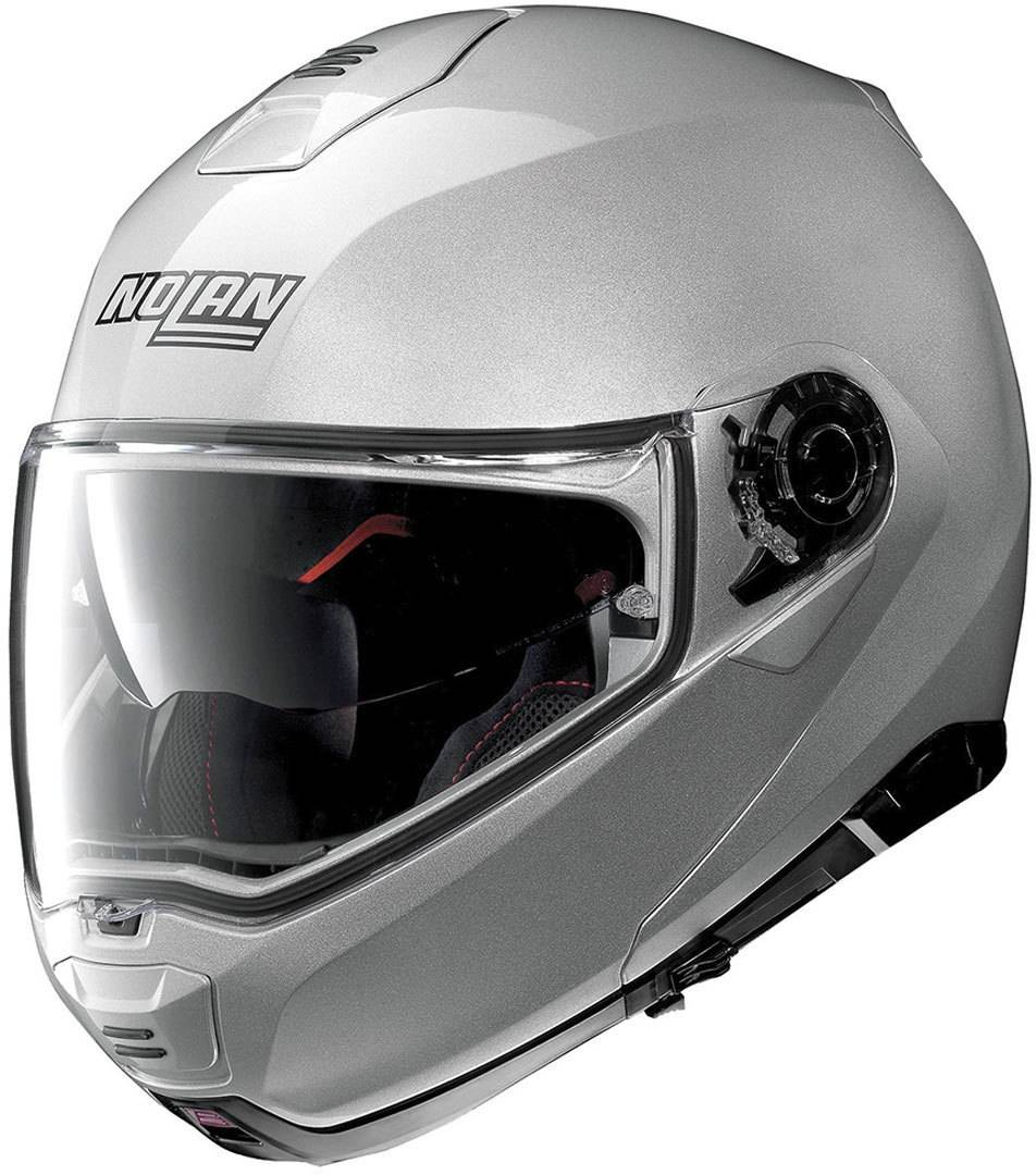 Nolan N100-5 Classic N-Com Helmet  - Silver - Size: S