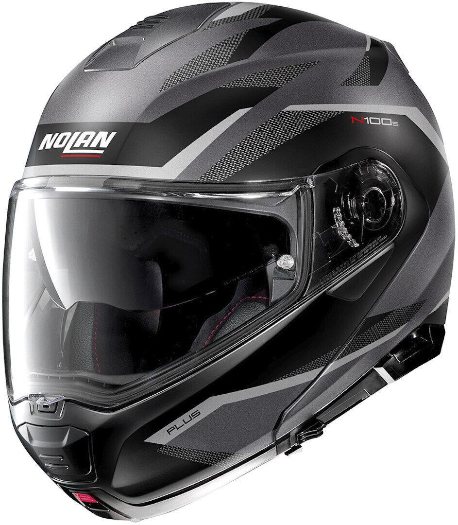 Nolan N100-5 Plus Overland N-Com Helmet  - Grey - Size: XL