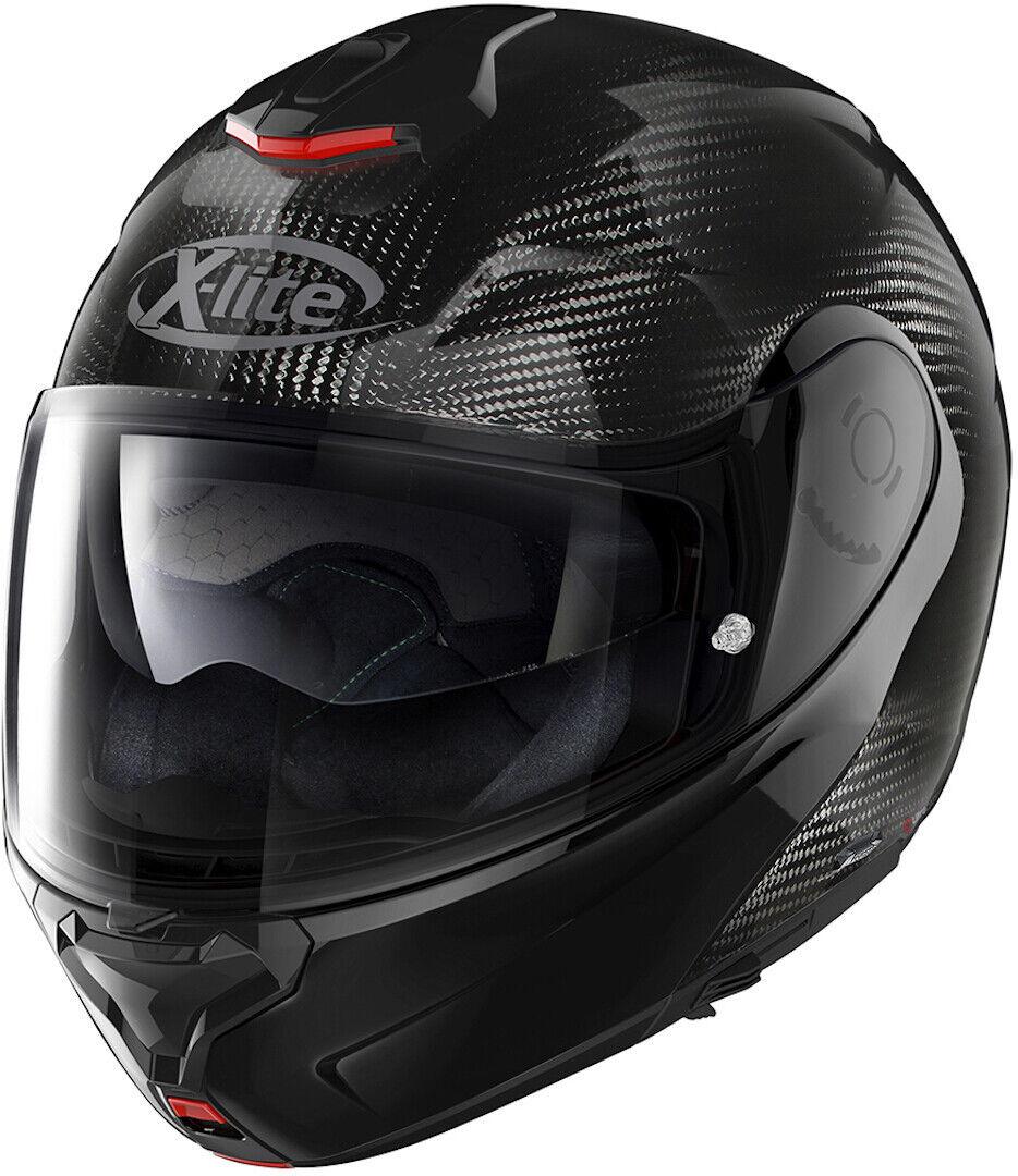 X-Lite X-1005 Ultra Carbon Dyad N-Com Helmet  - Carbon - Size: L