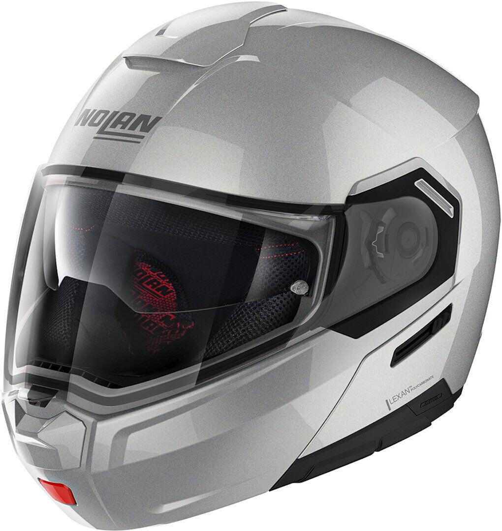 Nolan N90-3 Classic N-Com Helmet  - Grey - Size: M