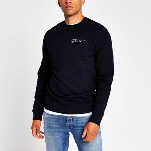 prolific Mens Prolific Navy slim fit sweatshirt (XXS)
