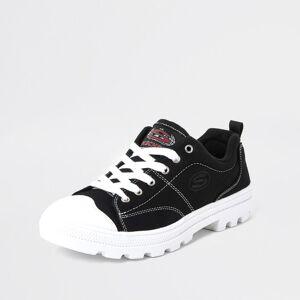skechers Womens Black skechers roadies trainers (7)