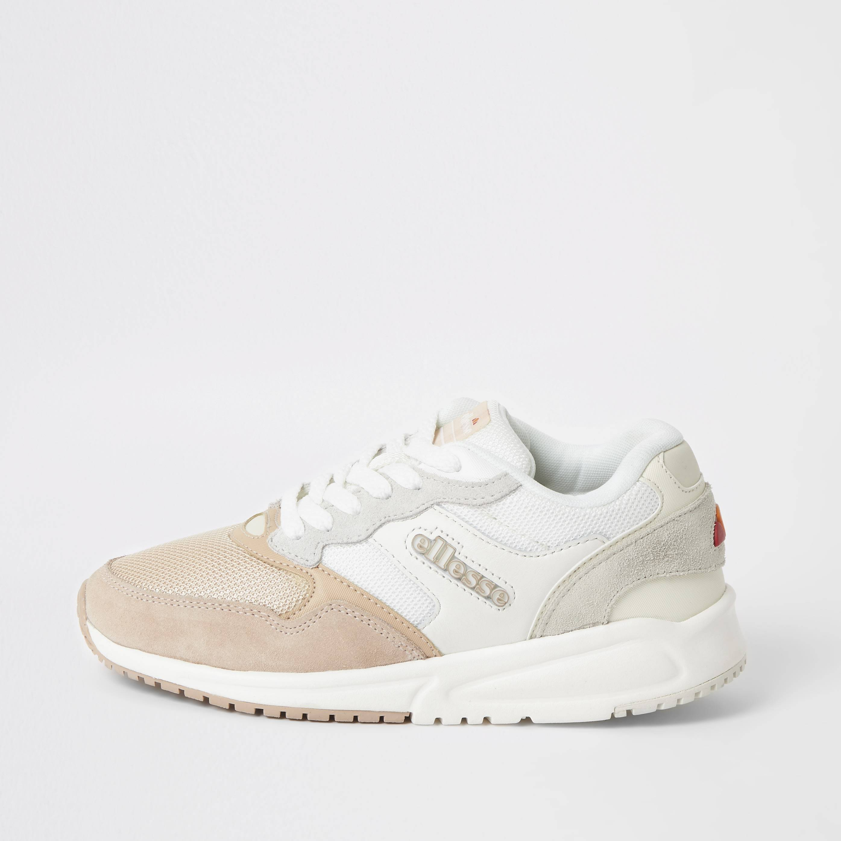 ellesse Womens Ellesse NYC84 Pink lace-up trainers (4)