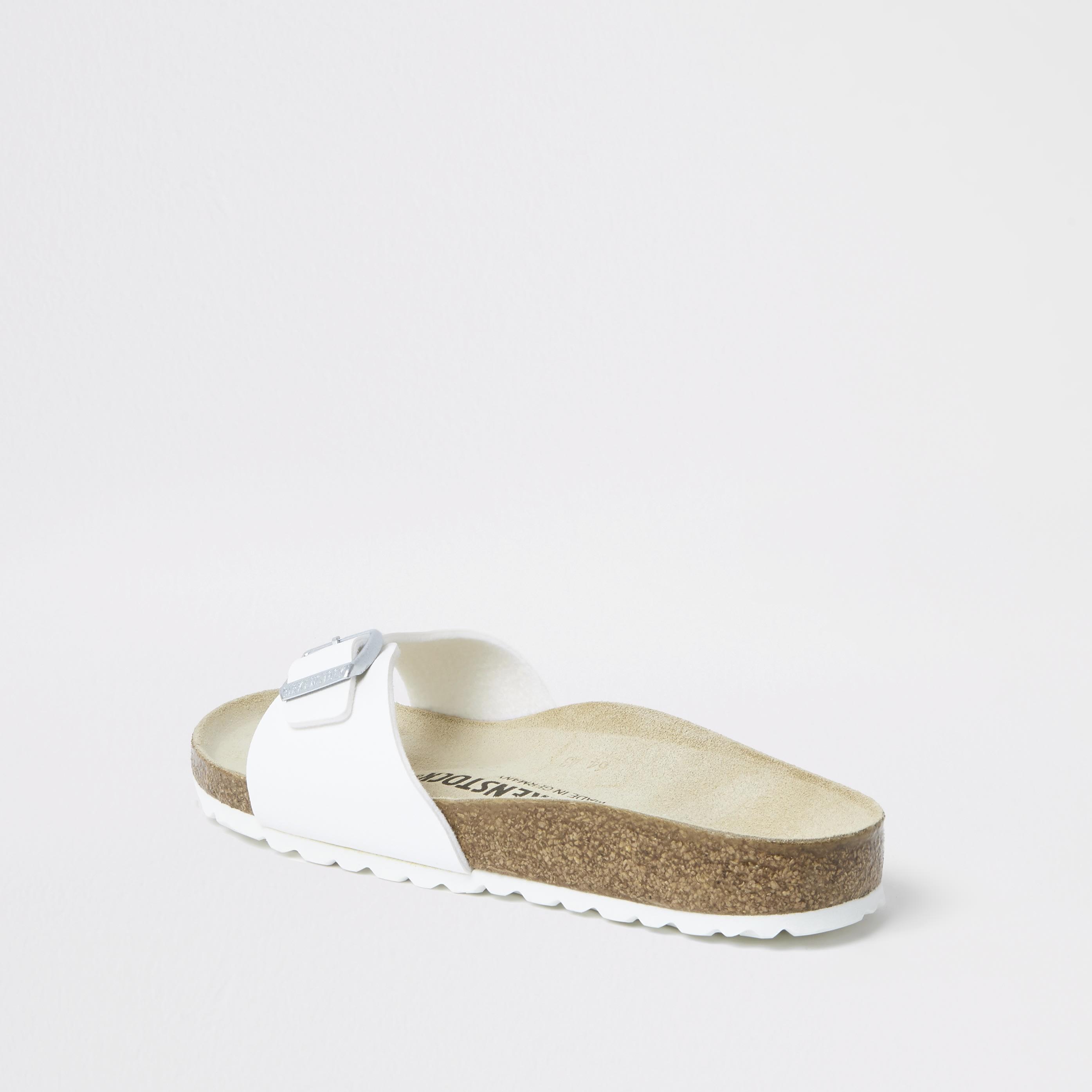 birkenstock Womens Birkenstock White Madrid sandals (7)