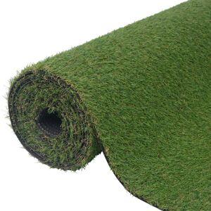 VIDAXL Artificial Grass 1.5x10 m/20-25 mm Green - Green - Vidaxl