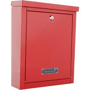 ROTTNER SAFES Rottner Brighton Red Letterbox