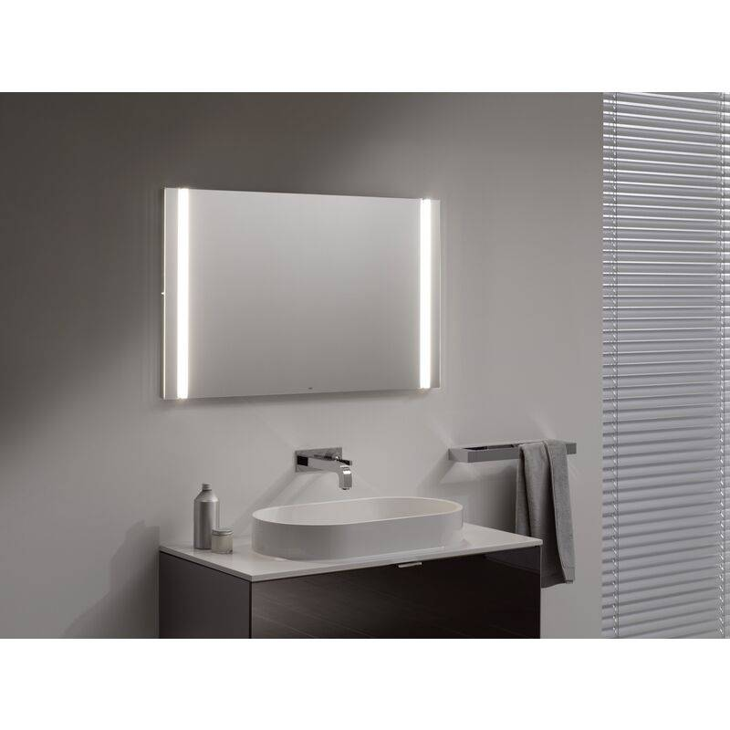 Emco light mirror select, LED light mirror select, 1000 x 610 mm - 449600086