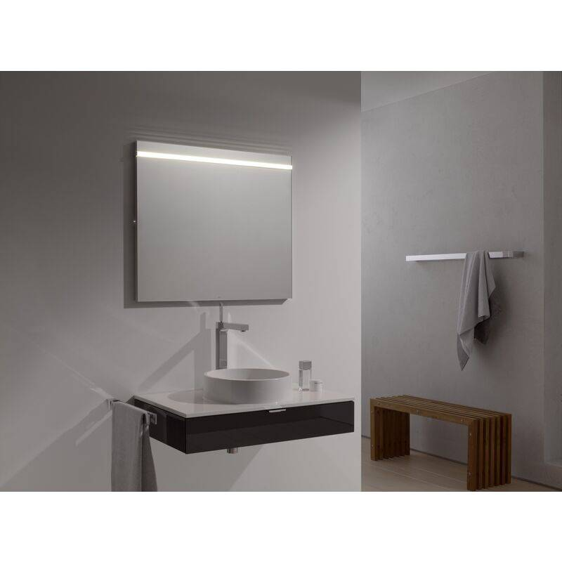 Emco light mirror select, LED light mirror select, 810 x 700 mm - 449600081