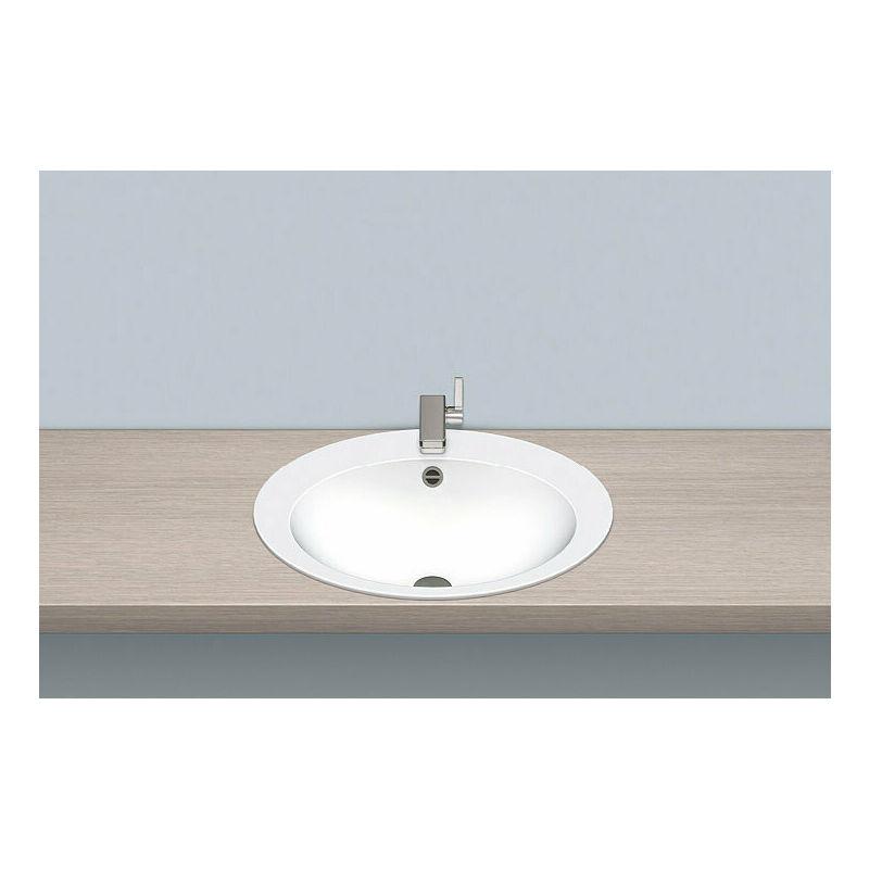 ALAPE built-in basin EB.O600H, oval W: 600mm H: 150mm D: 500mm, 2104000000