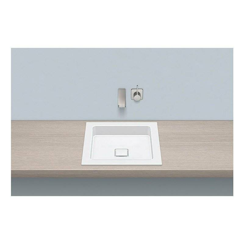 Alape built-in basin EB.Q450, square W: 450mm H: 94mm D: 450mm, 2302000000,