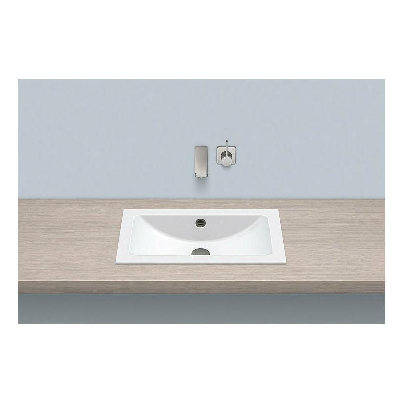 ALAPE built-in basin EB.R585, rectangular W: 585mm H: 143mm D: 347mm, 2201000000,