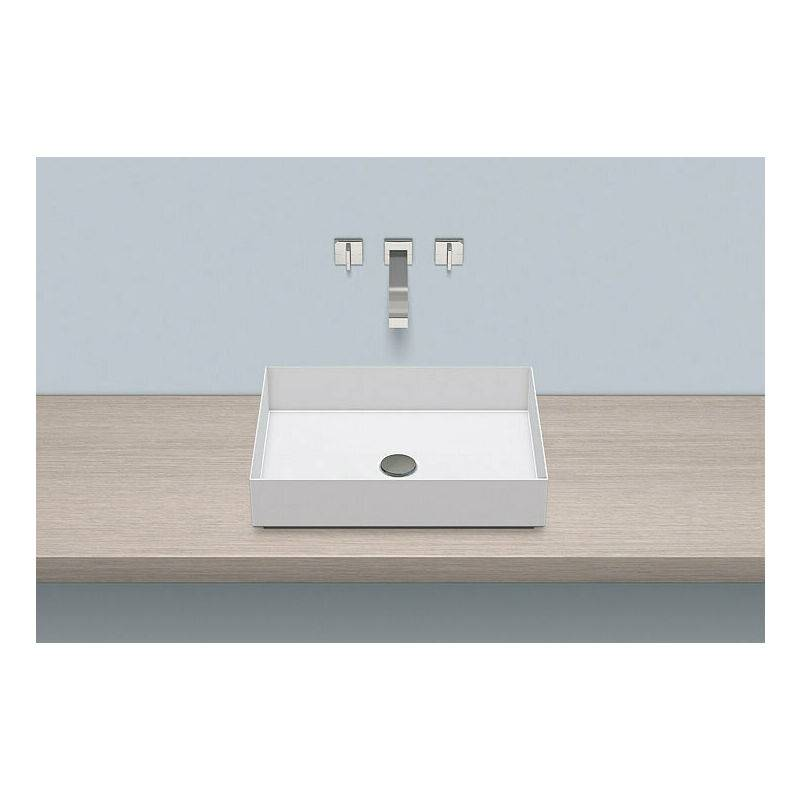 Alape top basin AB.ME500, rectangular W: 500mm H: 115mm D: 375mm, 3212000000,