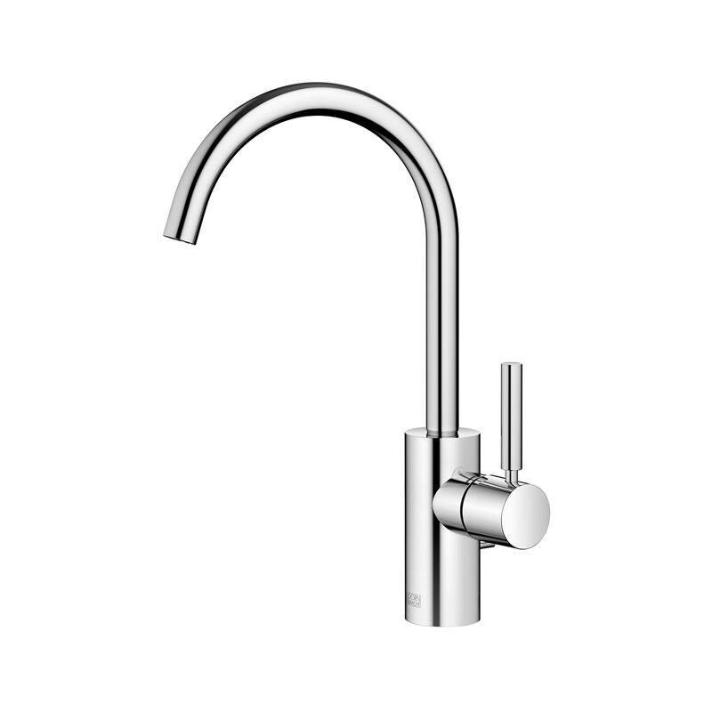 Dornbracht Meta single-lever basin mixer with pop-up waste, 167 mm projection,