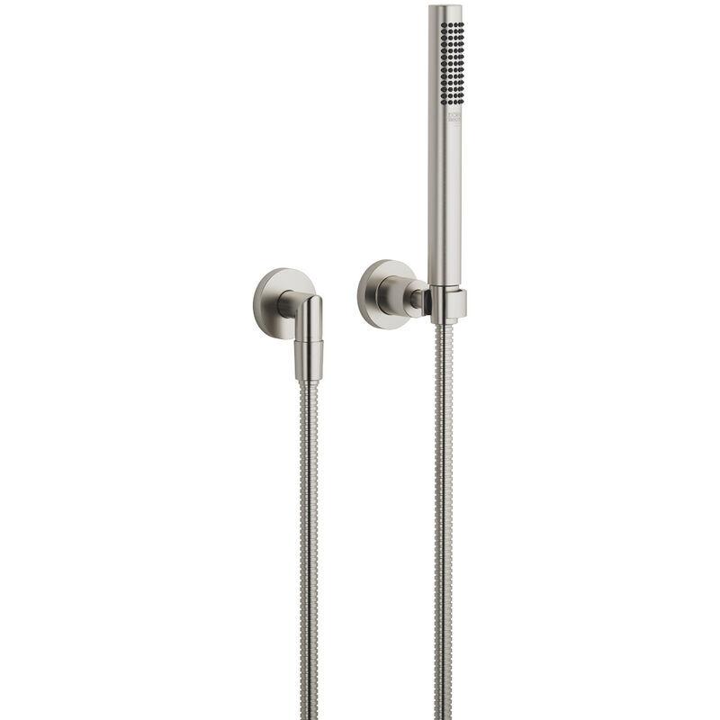 Dornbracht Tara hose shower set with single rosettes, 27802892, colour: