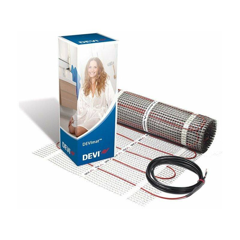 Devi comfort 100w/m2 DTIR-100 5.0m2 500W Underfloor Heating Mat - Devi
