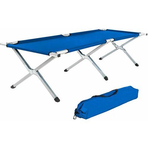 TECTAKE Camping bed - folding ca...