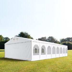 TOOLPORT Marquee 8x32m PVC 550 g/m² white waterproof
