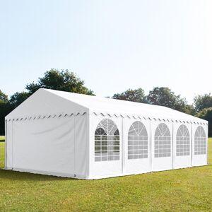 TOOLPORT Marquee 5x10m PVC 550 g/m² white waterproof