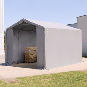 TOOLPORT Industrial Tent 3x6m PVC 550 g/m² grey waterproof