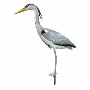 vidaXL Ubbink Animal Figure Heron 84cm Garden Lawn Pond Decorative Figurine Ornament