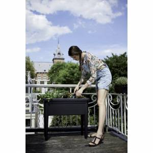 elho Green Basics Grow Table Planter, Living Black, 2X-Large