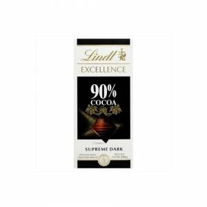 lindt Excellence 90% Cocoa Bar -Pack of 12