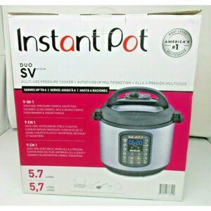 Instant Pot 9 in 1 COS9735 Duo SV 6 Quart Multi Use Pressure Cooker 5.7 litres
