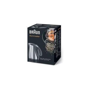 Braun Sommelier WK600 Kettle - Metallic/Stainless Steel