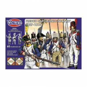Victrix 28mm Scale French Napoleonic Infantry 1807-1812