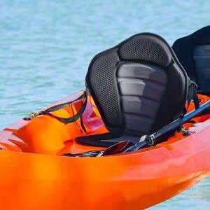 HOMCOM Universal Kayak Seat Sit On Top Canoe Back Rest Detachable Fishing Boat