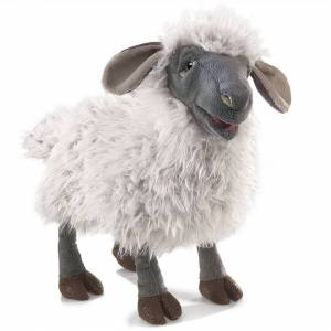 Folkmanis Hand Puppet - Folkmanis - Sheep Bleating Puppet New Toys Soft Doll Plush 3058