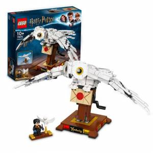 Lego Harry Potter Hedwig Display Model Moving Wings 75979 Age 9+ 630pcs