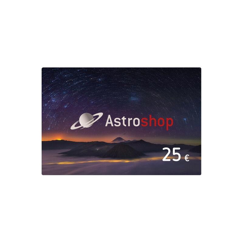 - Astroshop voucher at a Value of 25 €
